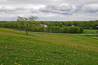 Minooka, Illinois - Open fields near Minooka, Illinois