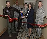 Minot AFB Base leadership attends ribbon cutting ceremony 160203-F-UY190-018.jpg