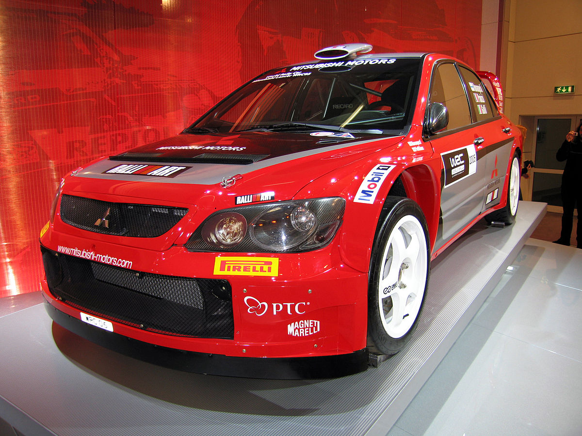 mitsubishi lancer wrc wikipedia la enciclopedia libre. Black Bedroom Furniture Sets. Home Design Ideas