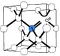 Model of nitrogen-vacancy center in diamond.jpg