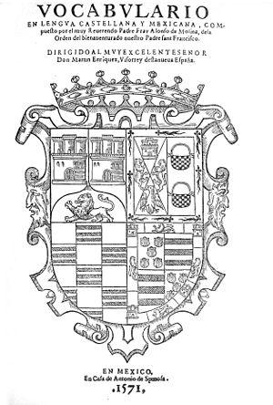 Molina, Alonso de (n. ca. 1511)