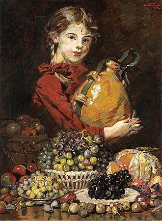 Martin Monnickendam - Image: Monarosa, dochter van de schilder, als fruitverkoopster Rijksmuseum SK C 1105