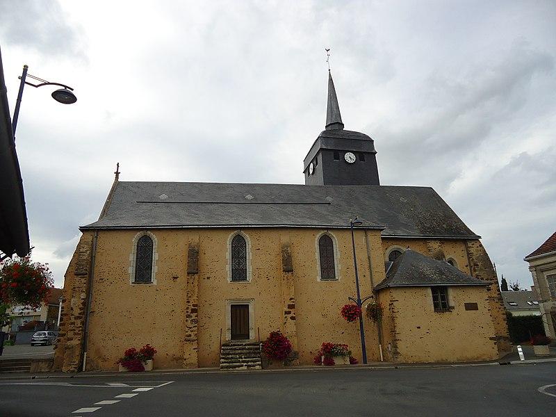 Eglise Saint-Etienne - Moncé-en-Belin - Sarthe (72)
