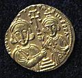 Monete d'oro di giustiniano II e tiberio IV, 705-711, 06, 3.jpg