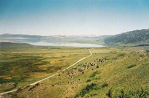 Mono Basin - Mono Basin from near Conway Summit.
