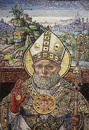 Zenobius of Florence - Saint Zenobius by Monte di Giovanni