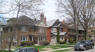 Moore Park, Toronto - Typical homes in Moore Park