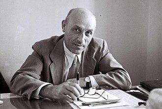 Mordechai Namir - Image: Mordechai Namir 1947