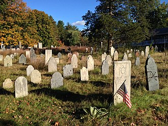 National Register of Historic Places listings in Hampshire County, Massachusetts - Image: More Gravestones