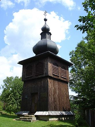 Morochów - Wooden bell tower