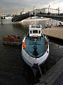 Moscow, boat by Lu Bridge (1).jpg