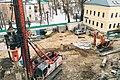 Moscow, ground drilling near Bersenevskaya Embankment (16161964673).jpg