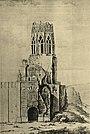 Moscow Kremlin, 1812 damage, Tromonin, 1812.jpg