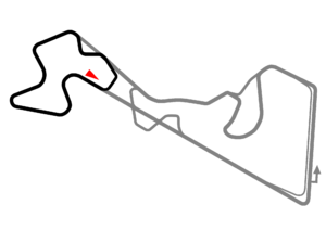 Moscow Raceway - Image: Moscow Raceway Supersprint Circuit Configuration