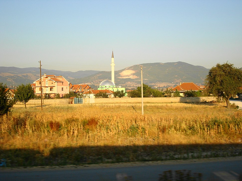 Mosque in Preševo, Serbia