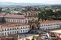 Mosteiro de Alcobaça visto do Castelo (48047717326).jpg