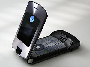 United States v. Kramer -  A Motorola RAZR V3 similar to the one used by Kramer.