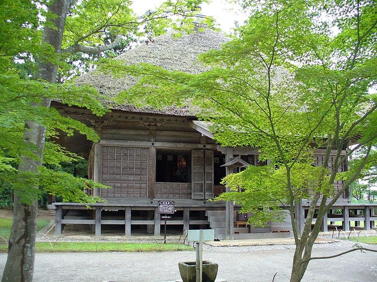 Motsuji Jogyodo Hall