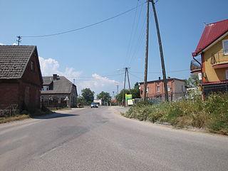 Mrzezino Village in Pomeranian Voivodeship, Poland