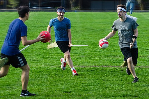 Muggle Quidditch Game in Vancouver