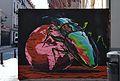 Mural amb escarabat al carrer de Na Jordana, València.JPG