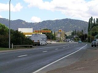 Liverpool Range component range of Great Dividing Range, New South Wales, Australia