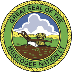 Muscogee (Creek) Nation - Seal of the Muscogee (Creek) Nation