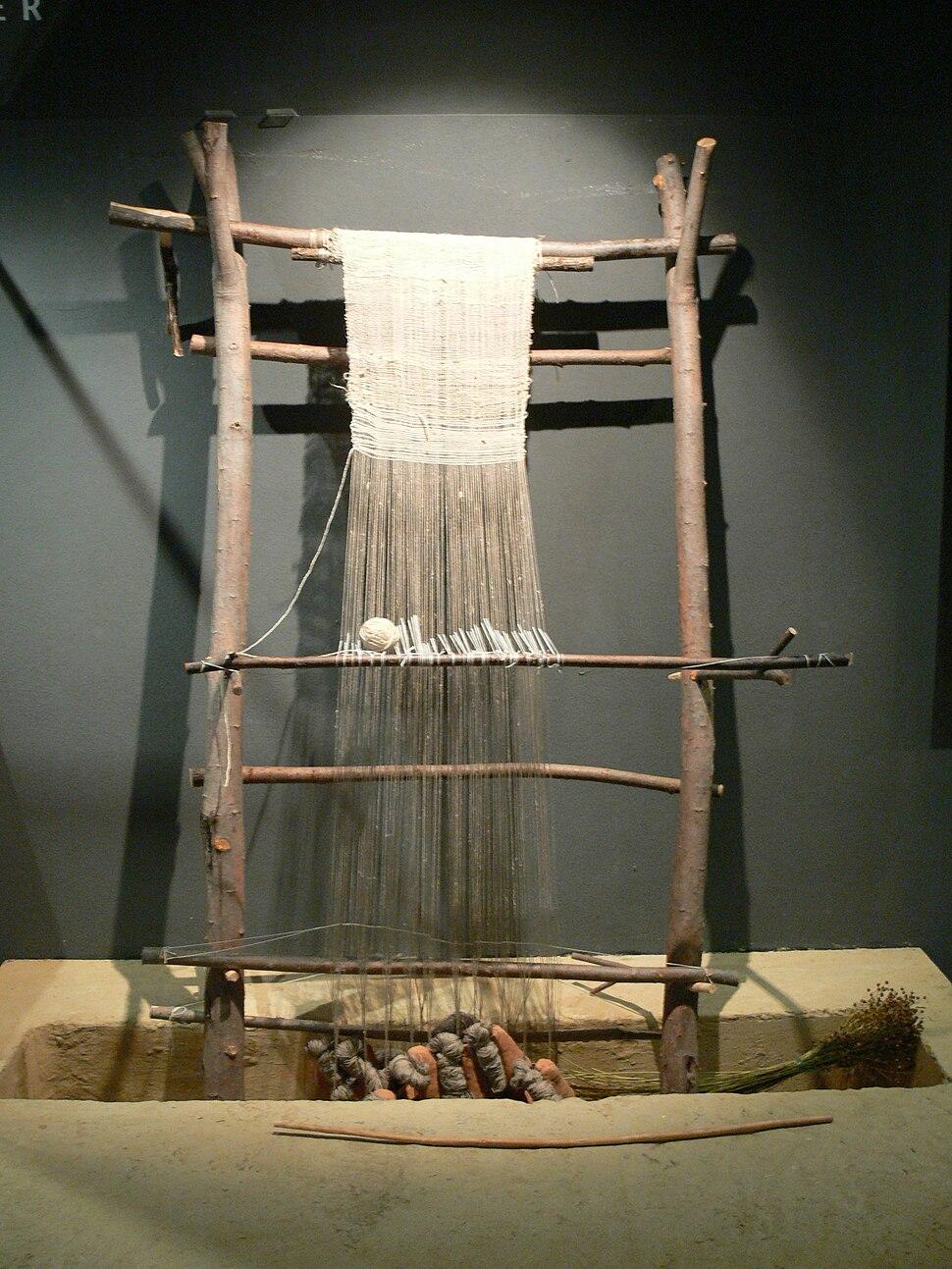 Museum Quintana - Webstuhl 1