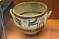 Mycenaean pottery krater, sphinxes, chariot, 1300–1200 BC, BM Cat Vases C397, 142875.jpg