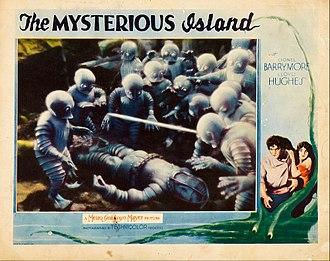 The Mysterious Island (1929 film) - Lobby card
