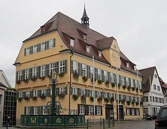 Nürtingen - Nürtingen Rathaus Town hall