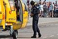 NHV Helicopters Netherlands Coastguard AS365 Dauphin just landed (35801763225).jpg