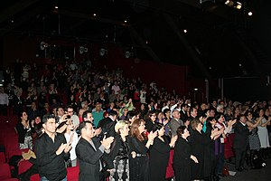 Iranians in the Netherlands - People at Sima Bina's Nowruz concert in Amsterdam, 2010