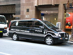 Public Order and Riot Squad - Public Order and Riot Squad vehicle