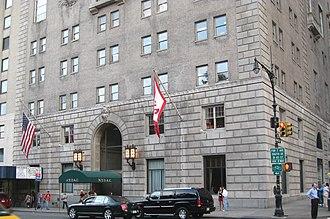 New York Athletic Club - NYAC headquarters in Manhattan