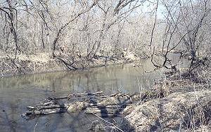 Zumbrota, Minnesota - The North Fork of the Zumbro River in Zumbrota