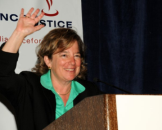 Nan Aron - Nan Aron speaking at an Alliance for Justice event