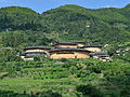Nanjing Tianluokeng Tulou cluster 20140829.JPG