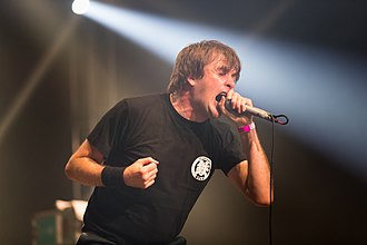 Napalm Death - Barney Greenway in 2017