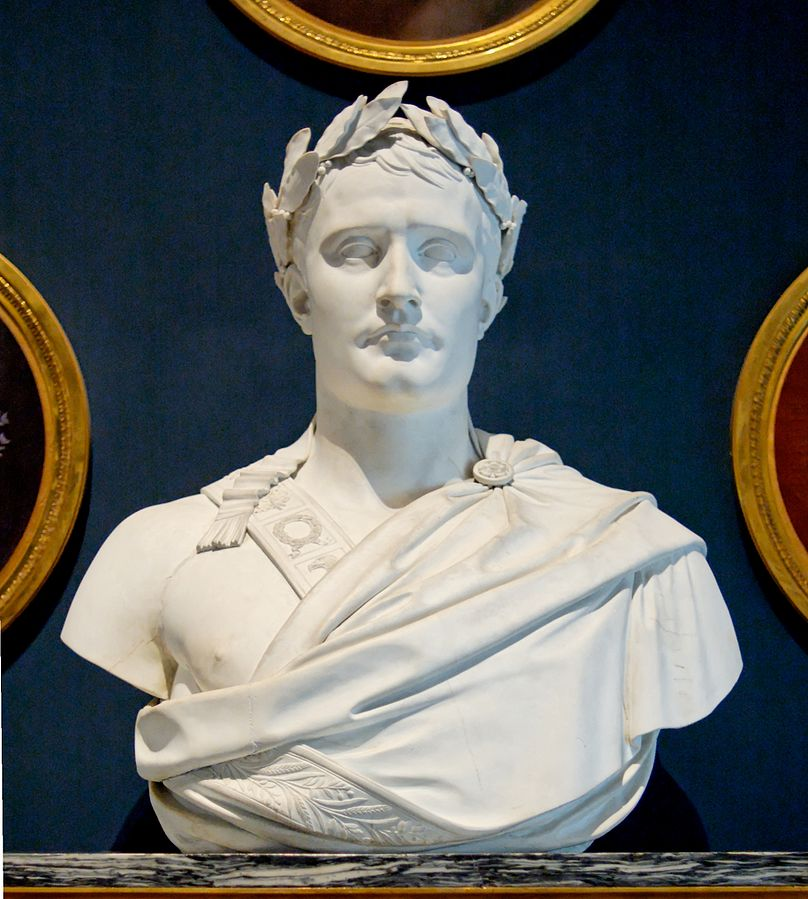 Bust of Emperor Napoleon I