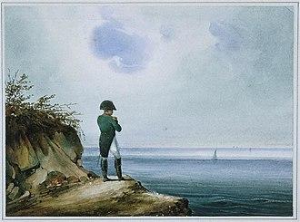 Saint Helena - Napoléon à Sainte-Hélène by Francois-Joseph Sandmann