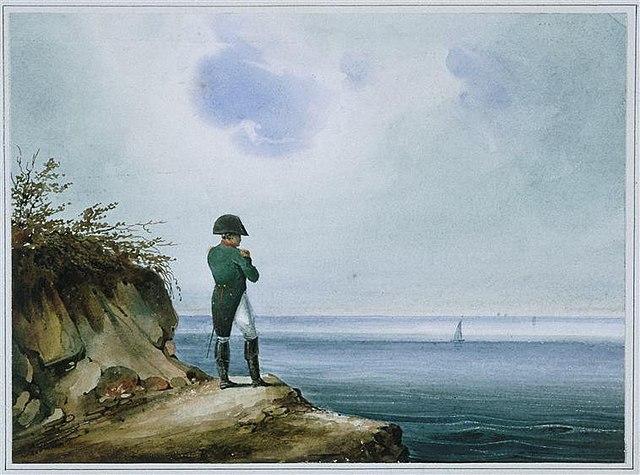 Наполеон на острове Св. Елены. Зандманн (XIX век)