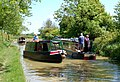 Narrowboats passing near Nethercote, Grand Union Canal - geograph.org.uk - 1328581.jpg