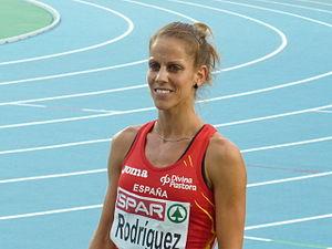 Natalia Rodríguez (athlete) - Image: Natalia Rodríguez Barcelona 2010