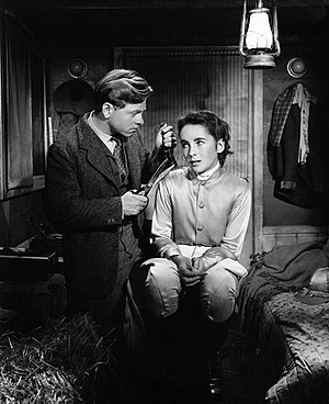 National Velvet (film) - Mickey Rooney and Elizabeth Taylor in National Velvet