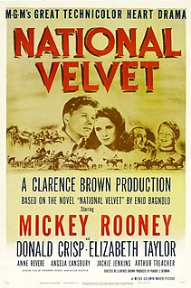<i>National Velvet</i> (film) 1944 Technicolor sports film directed by Clarence Brown