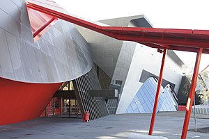 National Museum of Australia - Entrance to National Museum of Australia
