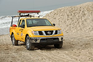 Los Angeles County Lifeguards - LA County Lifeguards Nissan Frontier