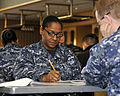 Navy Misawa sailors take Navy-wide E-7 exam 140114-N-DP652-017.jpg