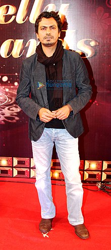 Nawazuddin at 13th Indian Telly Awards 2014.jpg